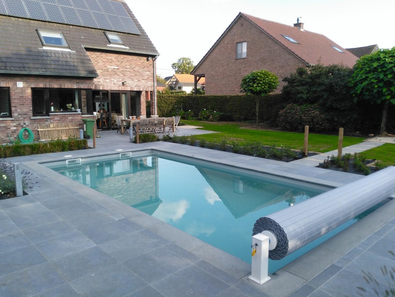Fotogalerij for Zwembad leggen